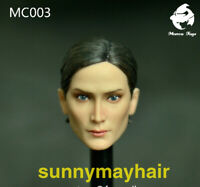 Mancotoys MC003 1/6 The Hacker Trinity Head Carved Carrie-Anne Moss Head Sculpt