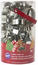 Wilton Cookie Cutter Set Christmas 30 Pieces