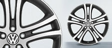 """19"""" VW OEM Savanna Wheel Set 19x9 5x112 Jetta Passat GTI Tiguan Golf Alloy Rim"""