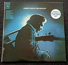 Johnny Cash ‎- Johnny Cash At San Quentin - LP Vinyl AUS 1969
