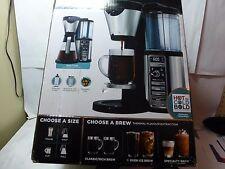 Ninja Coffee Bar CF080CCO with Glasses Carafe and Ninja Easy Frother