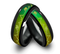 1xTitanium Mood Temperature Color Changing Emotion Feeling Band Ring Jewelry