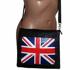 Unbranded Women's Leather Magnetic Snap Messenger & Cross Body Handbags