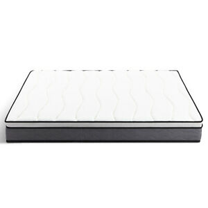 Durable 1 Piece C-King Size High-Quality Innerspring Mattress Beautiful 10 Inch