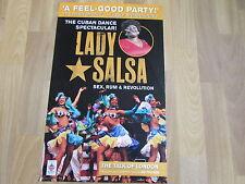 LADY SALSA  Cuban Dance Spectacular Talk of LONDON Theatre Original  Poster