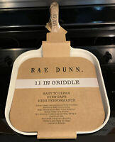 Rae Dunn Pancake Pan Size 11 in Wood Accent Griddle Pan Cook New Cookware Pot