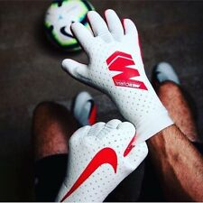 Nike Mercurial Touch Elite Goalkeeper Gloves Size 8/11 Pure Platinum RRP £129.95