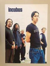 INCUBUS,MUSIC BAND, RARE 1990's POSTER