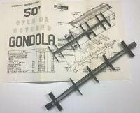Athearn HO 50' Flat / Gondola Car Parts #14002 & 14003 Upper & Lower Underframes