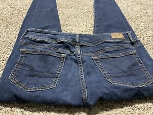 AE AMERICAN EAGLE OUTFITTERS SKINNY STRETCH WOMENS JEANS SIZE 10