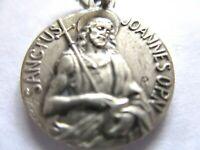 VINTAGE FRENCH CATHOLIC RELIGIOUS MEDAL ST. JOHN   LOT C6