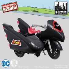 NEW RETRO BATMAN and ROBIN  DC Comics Batman Batcycle Playset
