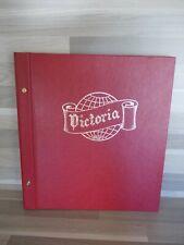 Neue alte stock GroB modell Victoria Importa rot luxe marken album 28 cm X 31 cm