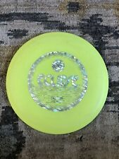 Discraft Eclipse Yellow With Silver Stamp 177g