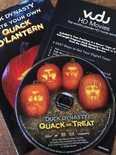Duck Dynasty (DVD 2014) Quack or Treat & HD DIGITAL & STENCIL NO CASE NO ART