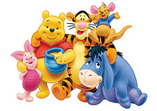 POSTER A4 PLASTIFIE-LAMINATED(1 FREE/1 GRATUIT)* DISNEY WINNIE L'OURSON & CO.