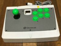 SEGA Dreamcast ARCADE STICK Fighting Controller DC HKT-7300 Game Japan