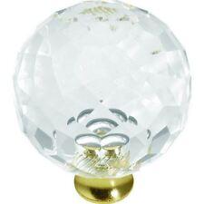 "Crystal Palace ~ Cabinet Drawer Pull Knob { 1 3/8"" Dia. } ~ #Se53"