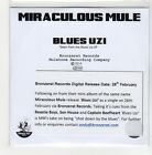 (GE726) Miraculous Mule, Blues Uzi - 2014 DJ CD