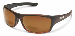 Suncloud Cover 2.0+ Power Readers Polar Brown Polarized Lens Burnished Brown