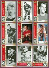 2003-04 UPPER DECK MR.HOCKEY NHL ALL STAR CARD SEE LIST