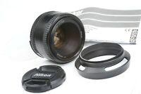 LENS NIKON  NIKKOR 50mm f1.8 D AF, full frame, for SLR & DSLR