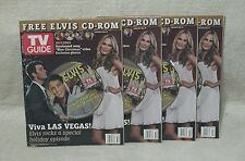 Elvis Presley Christmas 2006 TV Guide Magazines with CD 3