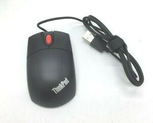 Lenovo Optical Mouse USB 3-button Mini portable Travel Wheel 31p7410 Thinkplus