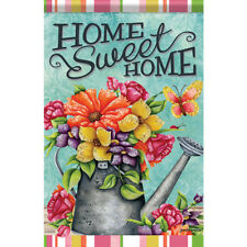 """Bountiful Blooms House Flag  28"""" x 40"""" Double sided Flag by Carson"""