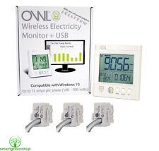 OWL +USB CM160 3 Phase (3 x 71 Ampere) Drahtloser Energiemonitor Smart Meter