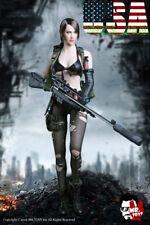 1/6 Metal Gear Solid Quiet Sexy Female Sniper Head Sculpt Military Set A ❶USA❶