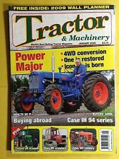 Tractor & Machinery - Power Major - Buyer's Guide Case IH 94 Series January 2009