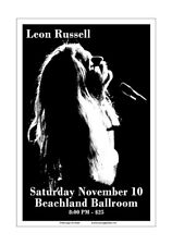 Leon Russell 2007 Cleveland Concert Poster