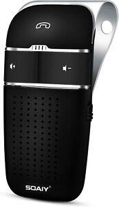 SOAIY S-32 Voice Commands Hands-free Wireless In-Car Bluetooth Speakerphone