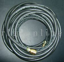 Gummi-Druckluftschlauch-Garnitur 13mm  L:20m  20/60bar