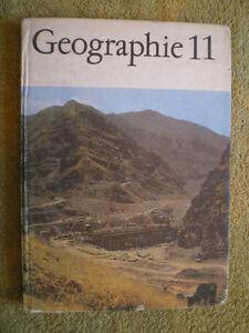 Geographie 11. Klasse DDR Schulbuch EOS  Lehrbuch Volk und Wissen Volkseigner V.