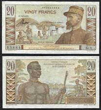 FRENCH EQUATORIAL AFRICA  20 Francs 1957 VF P 30