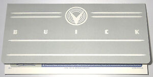 1958 Buick Owners Manual Envelope