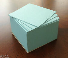 """Note Paper Refill Cube - Loose Sheets - 3 1/2"""" x 3 1/2"""" ( Blue )"""