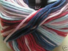 """Zitron """"LOFT"""" Wool Yarn, Red & Blue Multi #540"""