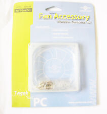 VANTEC 80mm 8cm Case Fan Vibration Dampener x2 Kits NEW
