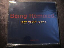 Pet Shop Boys BEING REMIXED Very Rare German LTD Edition 3-trk CD Maxi Single