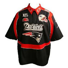 NFL New England Patriots Nascar - Bowling Style End Zone Shirt (4XL) New