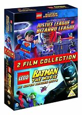 LEGO: Justice League Vs Bizarro / LEGO Batman: The Movie [2015] (DVD)