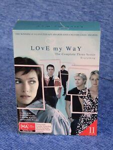 LOVE MY WAY THE COMPLETE SERIES 1 TO 3 DVD TV CLAUDIA KARVAN SAM WORTHNGTON