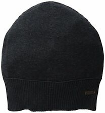 BOSS ORANGE BY HUGO BOSS KATAPINO BEANIE HAT. BLACK, ONE SIZE, NEW
