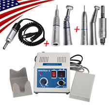Marathon Electric Micromotor + Straight Contra Angle + Low Speed Handpieces cc_z