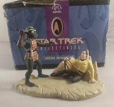 star trek figurine arena miniture - star trek collectables arena miniture