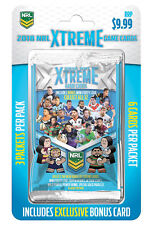 2 x 2018 NRL Rugby League Trading Game Cards Xtreme Starter Pack