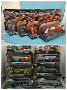 Micro Machines - Different Variations! - Rare Silver Bus - 3 Pack - Series 1 & 2